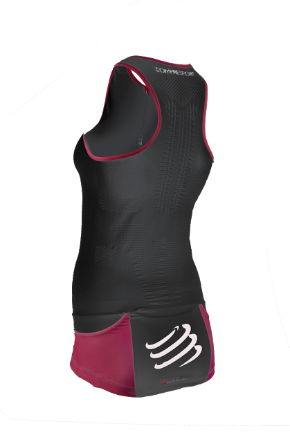 TR3 Ultra Tank Top W BLACK - backside