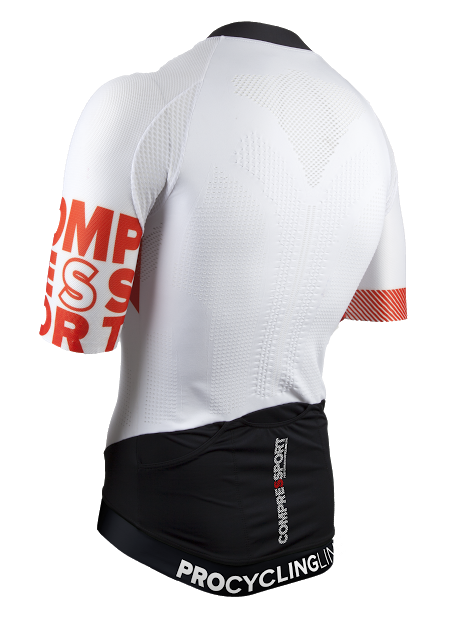 Cycling OnOff Maillot WHITE -  backside