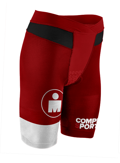 Kopia av TR3 Brutal Tri Compression Short W - Ironman Stripes RedWhite