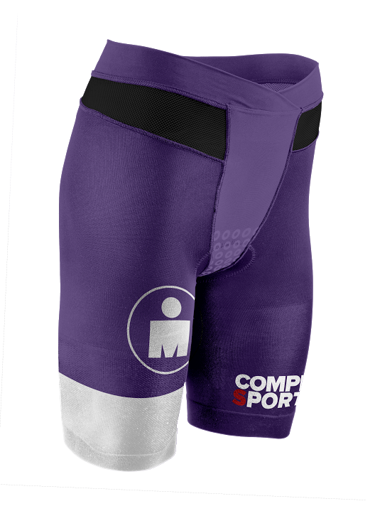 TR3 Brutal Tri Compression Short W - Ironman Stripes PurpleWhite