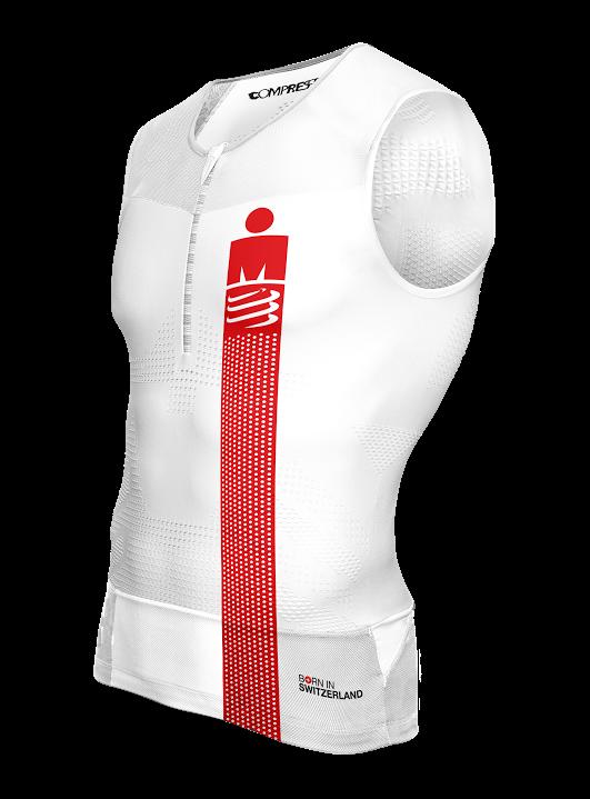 1TR3 Tank Top - Ironman Smart White