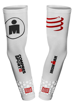 ProRacing Armsleeves UV Protect - Ironman White