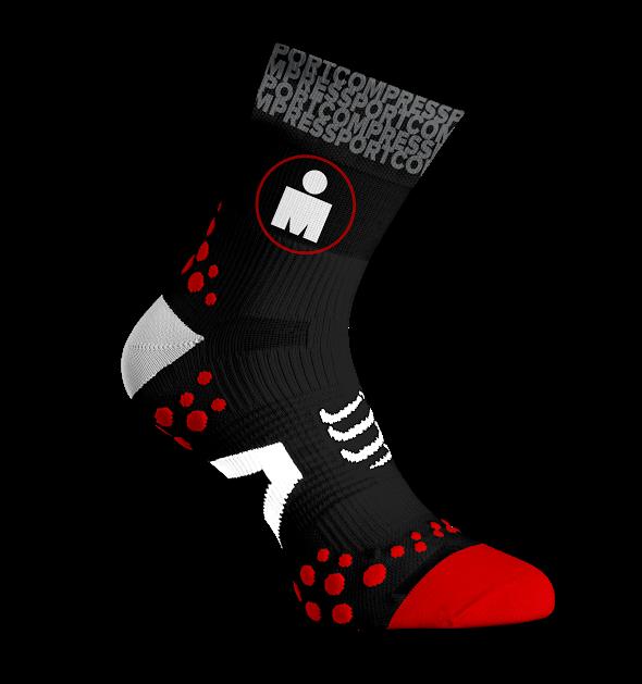 ProRacing Socks V2.1 Run High - Ironman MDot Black