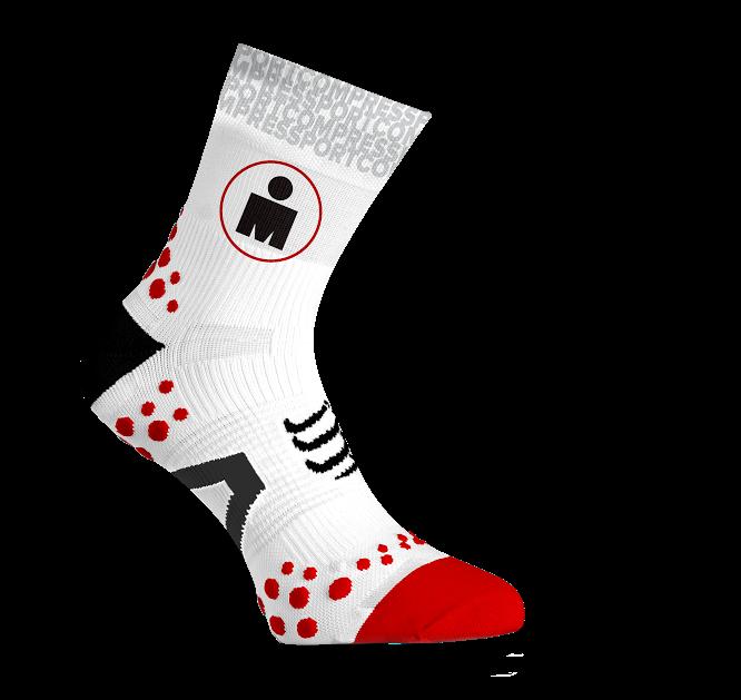 ProRacing Socks V2.1 Run High - Ironman MDot White
