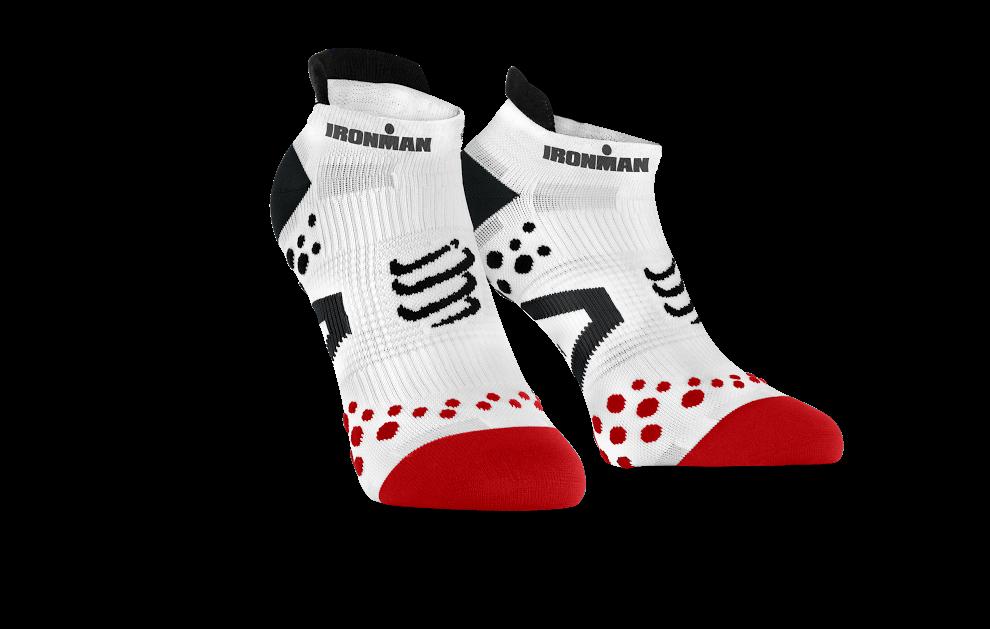 ProRacing Socks V2.1 Run Low - Ironman MDot White