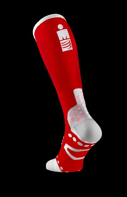 Full Socks UltraLight Racing - Ironman MDot Red