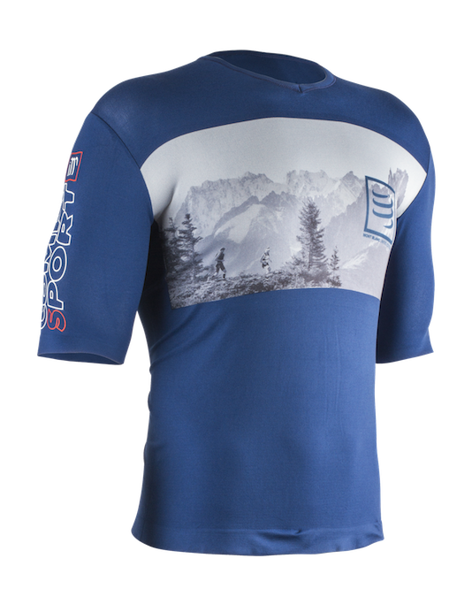 Training Tshirt - Mont Blanc 01 kopia