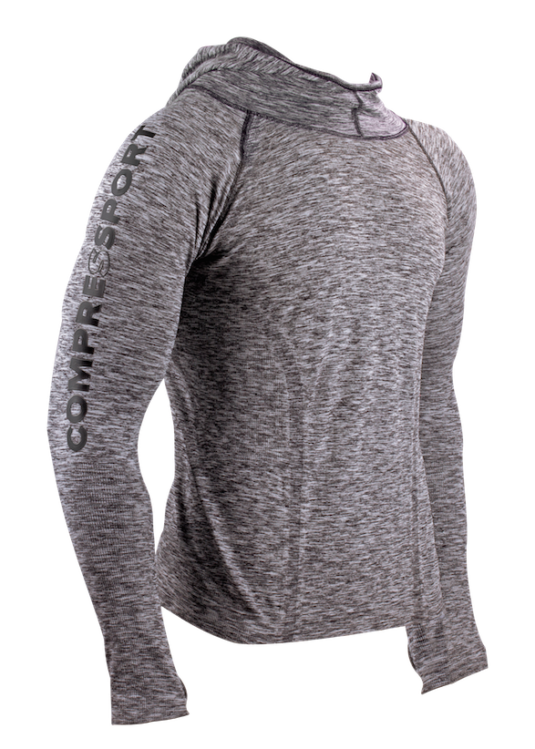 3D Thermo Hoodie Seamless - front 3-4 no hoodie kopia
