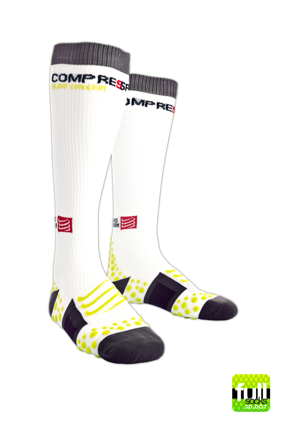 Full Socks v1 - White (1)