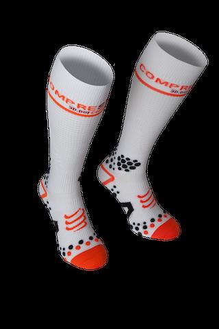 Full Socks V2 White - Pair