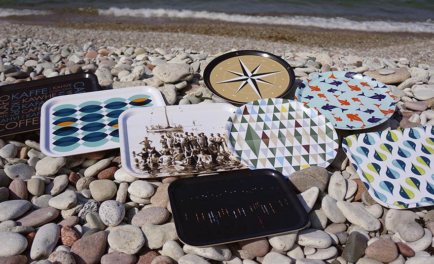 Snygga brickor från Gotland