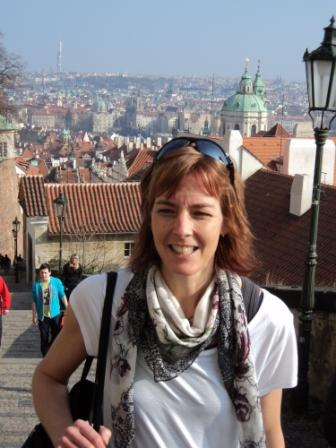 Mötte våren i Prag(i början av månaden)