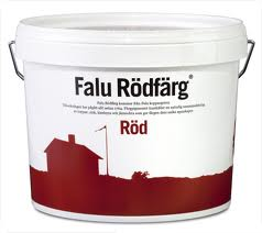 Falu Rödfärg - Falu Rödfärg - Röd 5L