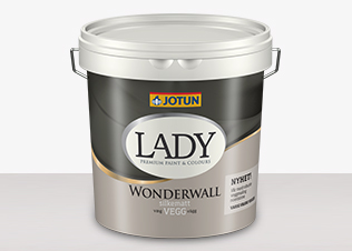 LADY Wonderwall - LADY Wonderwall Vit 0,68L