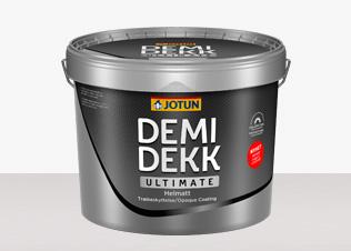 Jotun Demidekk Ultimate Helmatt - Jotun Demidekk Ultimate Helmatt Vit 0,7L