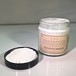TITANVITT (dioxid) - Titanvitt (dioxid) 120ml