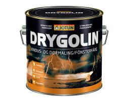 Drygolin Oljebaserad Dörr & Fönsterfärg - Drygolin 0,9L (Ange ev kulör om ej vit)