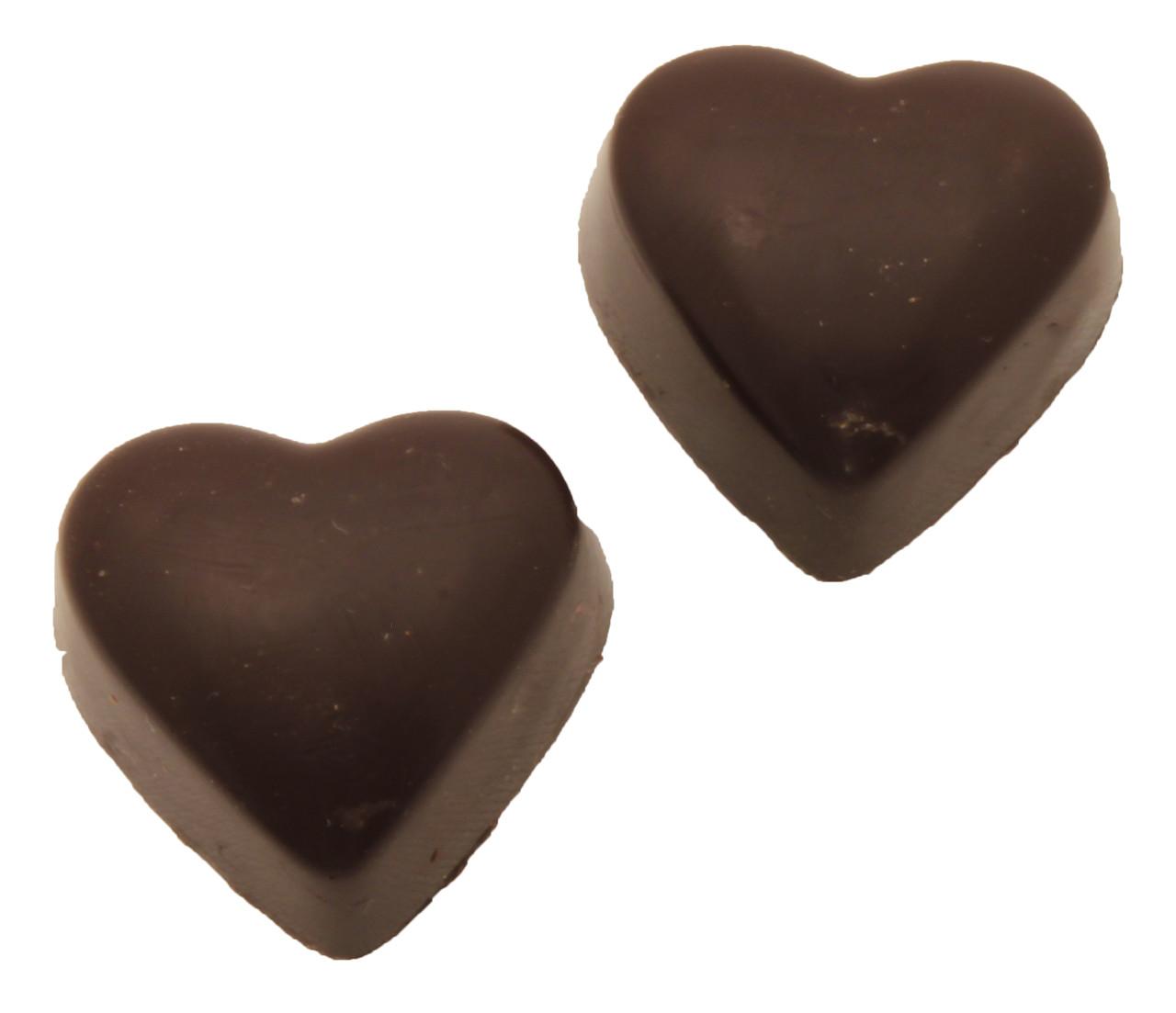 Pralinhuset - Hearts - Mörk Choklad