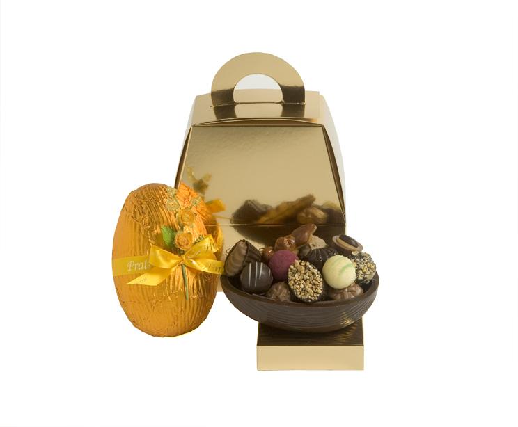 Pralinhusets Chokladägg - 250 gram