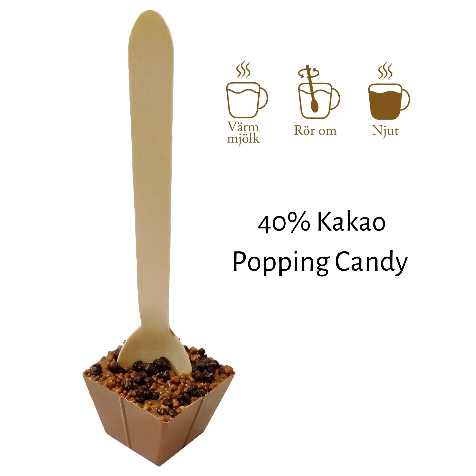 Drickchoklad_40% - Popping Candy