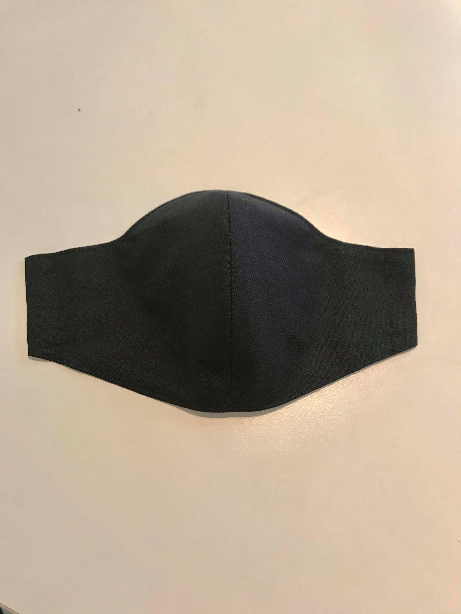 munskydd svart