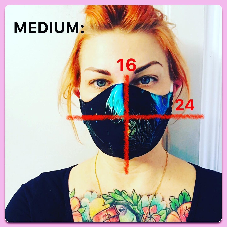 Munskydd medium