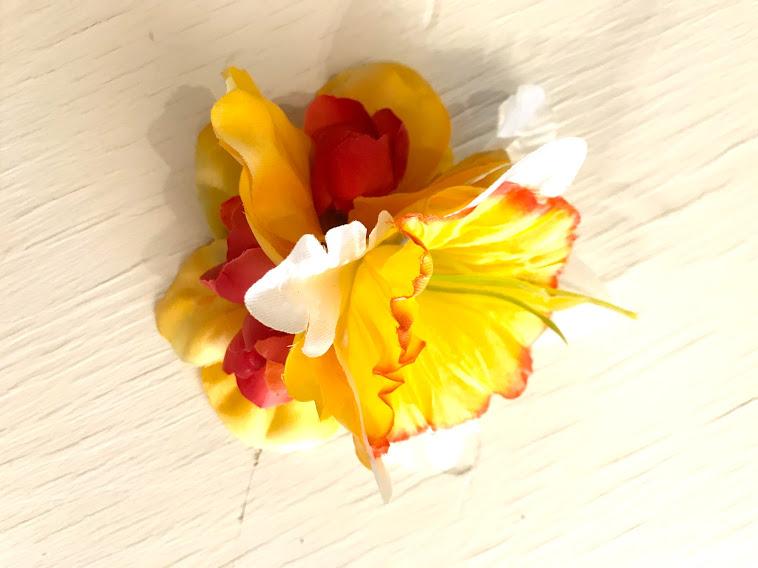 Stor påsklilja gulröd2