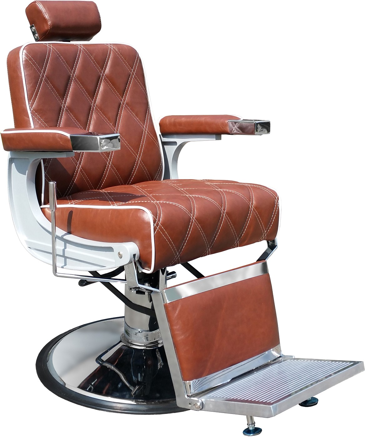 Barber Chair Charles cognac