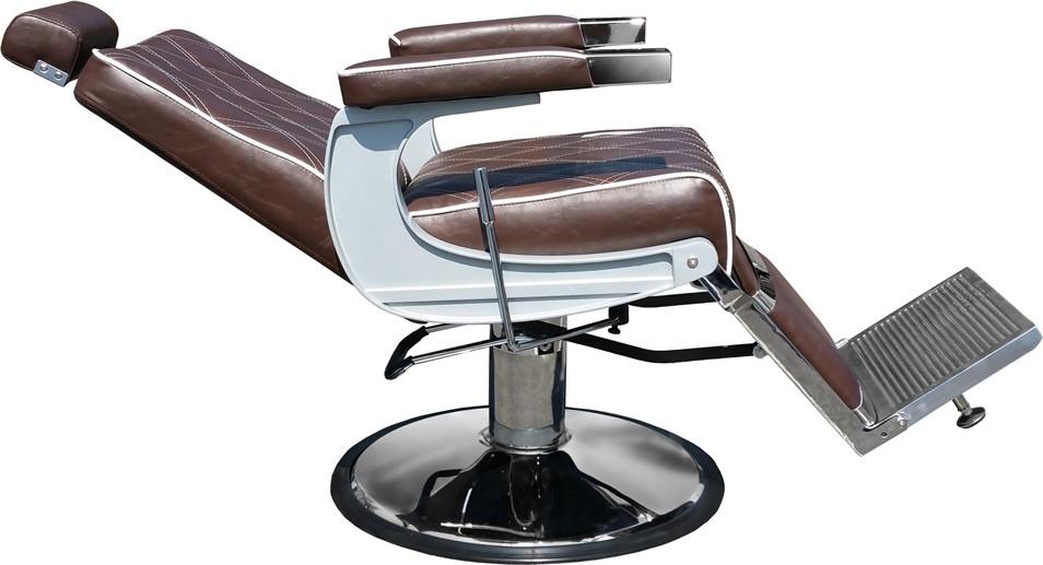 Barber Chair Charles mjörkbrun