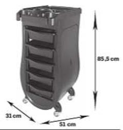 Trolley Signorina storlek