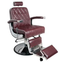 Barber Chair BRAD maroon - Barber Chair BRAD maroon