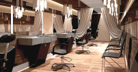 Barber Arbetsplats Baron Made in Europa
