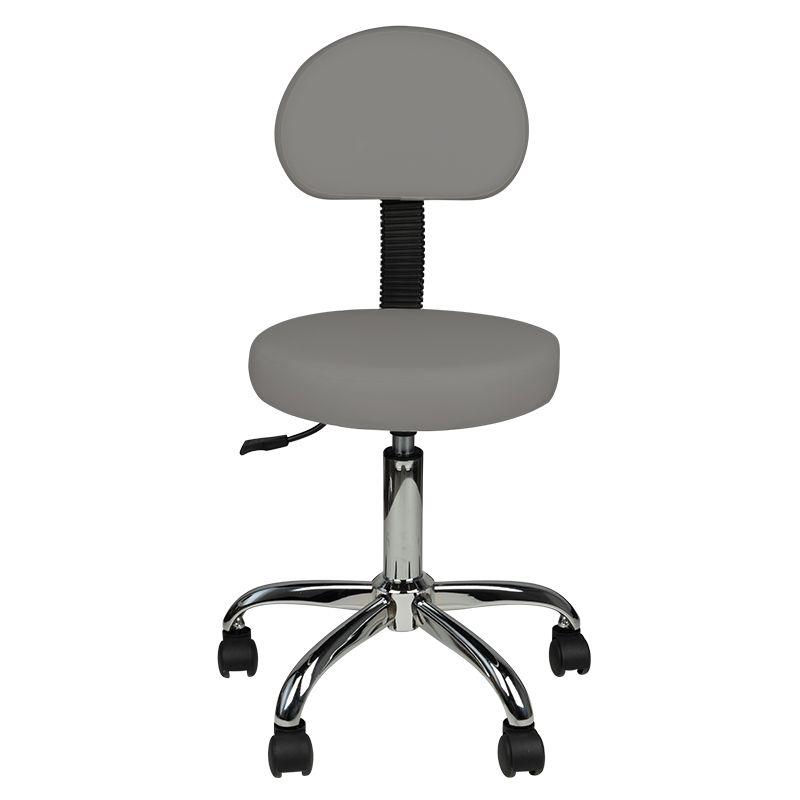 Arbetsstol AMS 40-55cm höjden grå
