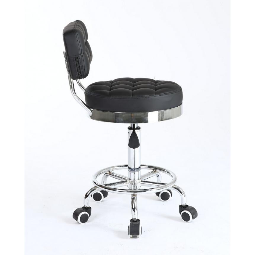 Arbetsstol RIFFEL II svart höjden: 38- 56cm