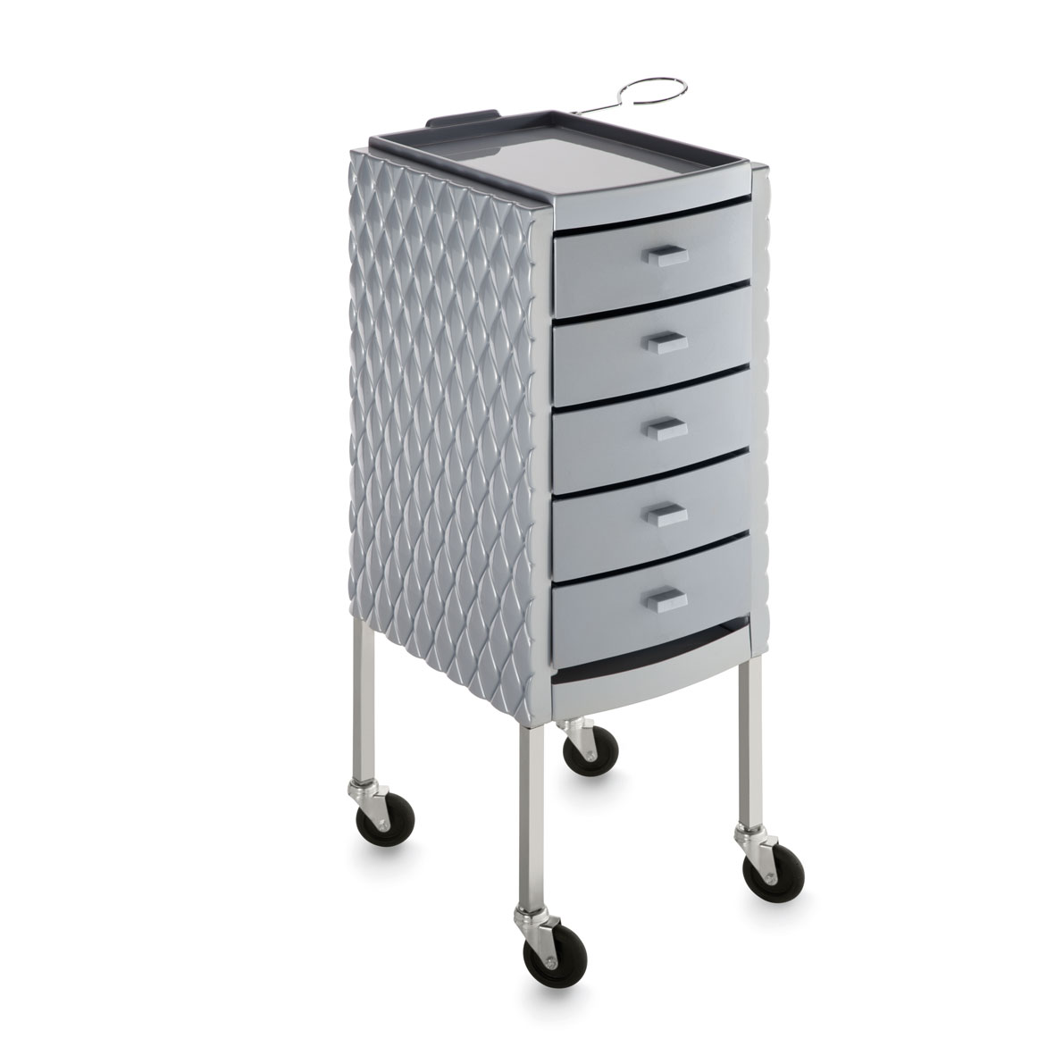 Arbetsbord Rullbord DECORI grå Made in ITALY