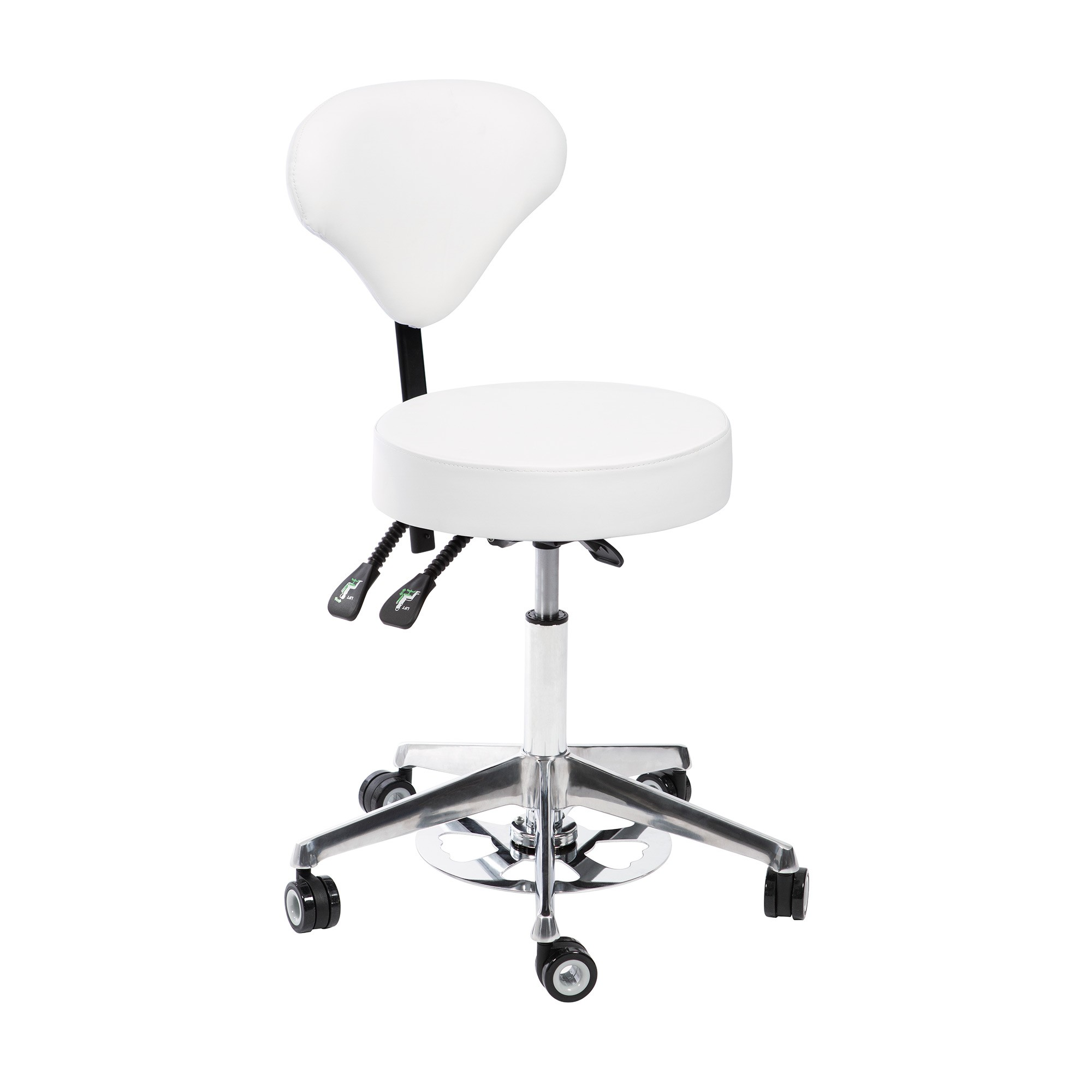 Arbetsstol ORION med Bump IT svart & vit Höjd: 51-63cm