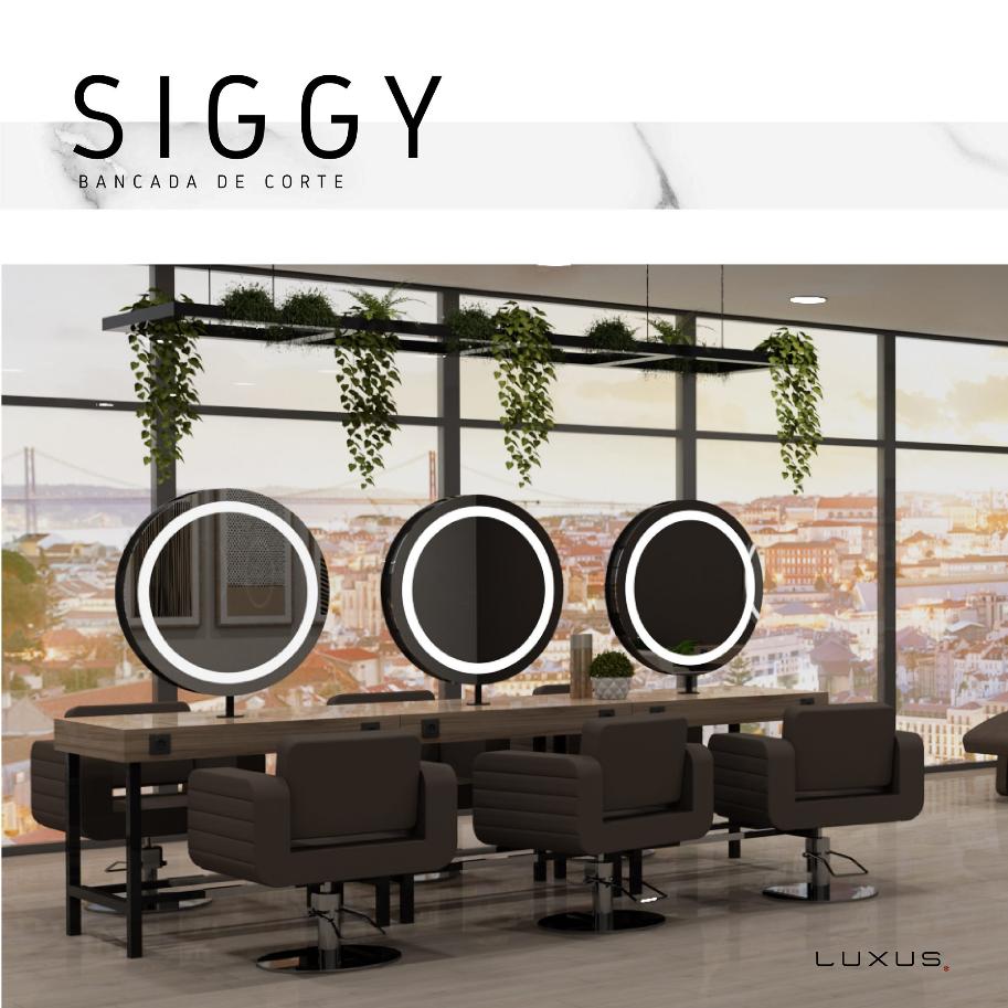 Arbetsplats SIGGI dubble med LED Made in Europe