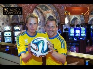 Emil och Björn på Casino Cosmopol