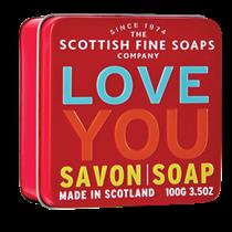 Scottish Fine Soap LOVE