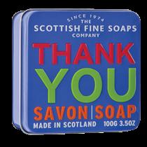 Scottish Fine Soap, THANK´S