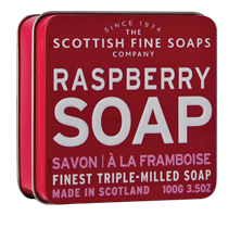 Scottish Fine Soap, RASBERRY -