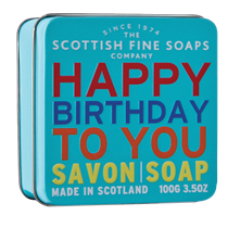 Scottish Fine Soap, HAPPY -