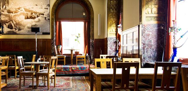 Bagdad Café, Medelhavsmuséet