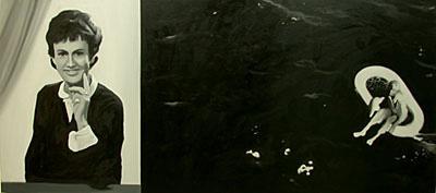 """Martin Wickström, """"Anita och havet"""""""
