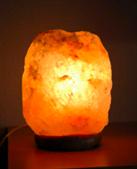 Saltstenslampa