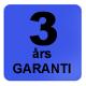 Dammprodukter.se 3 års garanti