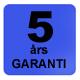 Dammprodukter.se 5 års garanti