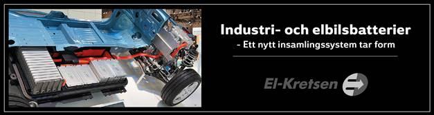 Elkretsen industri och elbilsbatterier