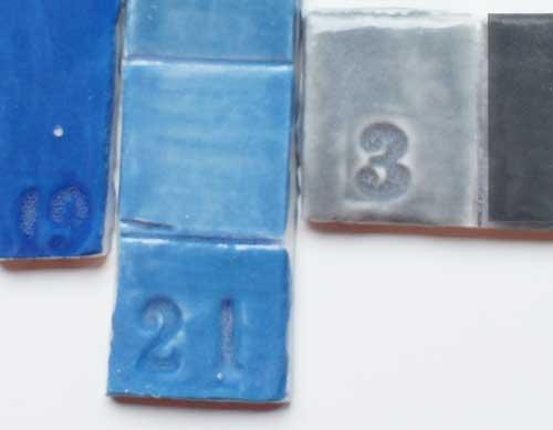 deco-basic grå3 - prover. Alla färger kan blandas med nyanser av grått.