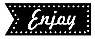 Enjoy - Stämpel